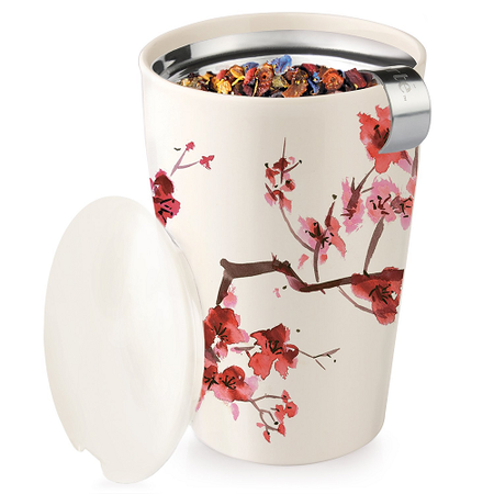 Tea Forte Ceramic Cup With Tea Infuser