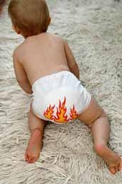 Fuego en los pañales