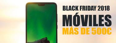 Black Friday 2018: las mejores ofertas de móviles de gama alta a partir de 500 euros