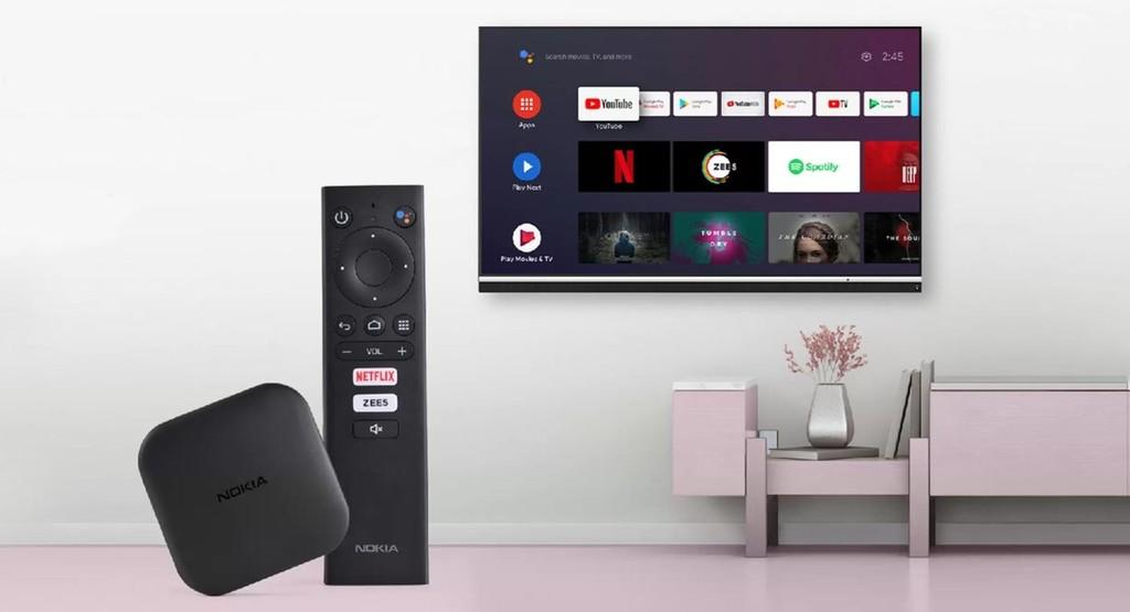 Nokia Media Streamer: la versatilidad de Android TV y Google Assistant en un económico reproductor multimedia