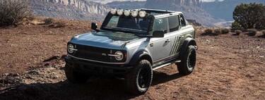 Ford Bronco RTR, el prototipo desarrollado por el piloto Vaughn Gittin Jr, promete ser un todoterreno sumamente capaz
