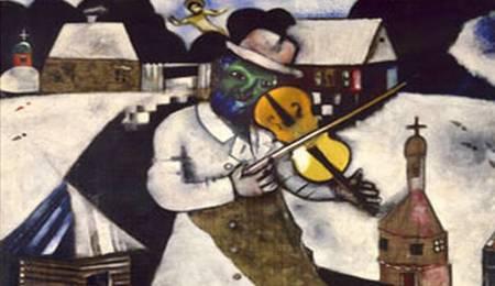 Violinista Marc Chagall