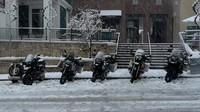 Motos y nieve, una combinación perfecta