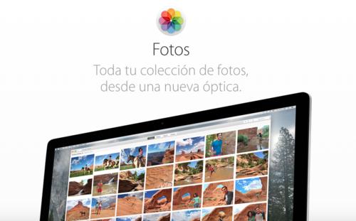 Ponte al día con Fotos para OS X Yosemite con estos trucos