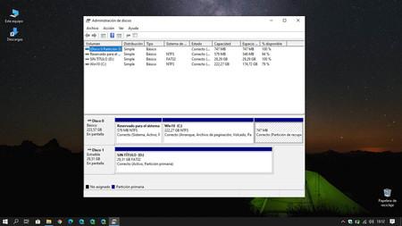 Las últimas Builds para Windows 10 tienen sorpresas ¿quizás una nueva herramienta de administración de discos?