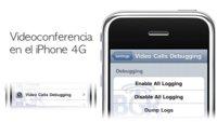 Nuevas capturas desmuestran la posibilidad de vídeoconferencia en el iPhone 4G