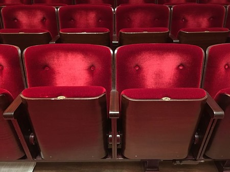 Chairs Plush Cinema Theatre