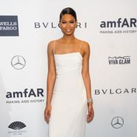 Chanel Iman amfAR 2014