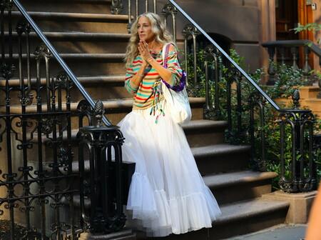 Sarah Jessica Parker sigue siendo la reina del street-style de Manhattan en 'Sexo en Nueva York'