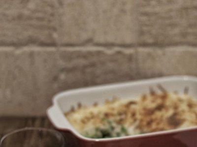 Bechamel de quinoa. Receta vegana con Thermomix