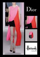 """La estilista Sophie Harris en Harrods, para clausurar el """"Pop Store"""" de Dior"""