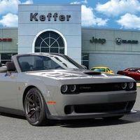 A este Dodge Challenger Widebody Convertible nunca lo veremos llegar, pero se da el lujo de existir