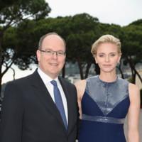 Charlene de Mónaco en el desfile de Louis Vuitton