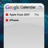 Google Calendar Widget: Siempre informado de los próximos eventos desde Dashboard