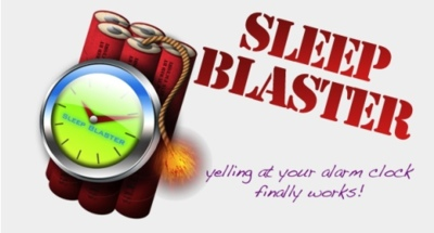 Sleep Blaster, grita a tu mac-despertador para que pare