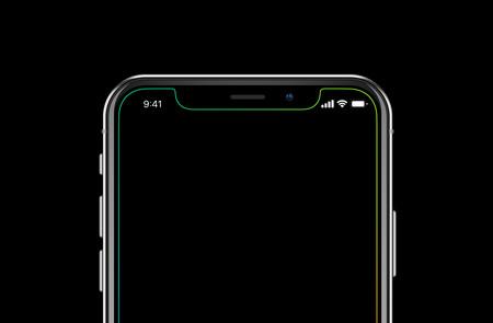 Fondo pantalla iphone x notch