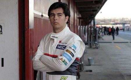 Sergio Pérez es optimista tras una buena jornada de pruebas