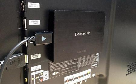 Samsung Evolution Kit, actualiza tu Smart TV  desde un simple módulo