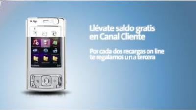 3x2 en recargas de Movistar a través de su web