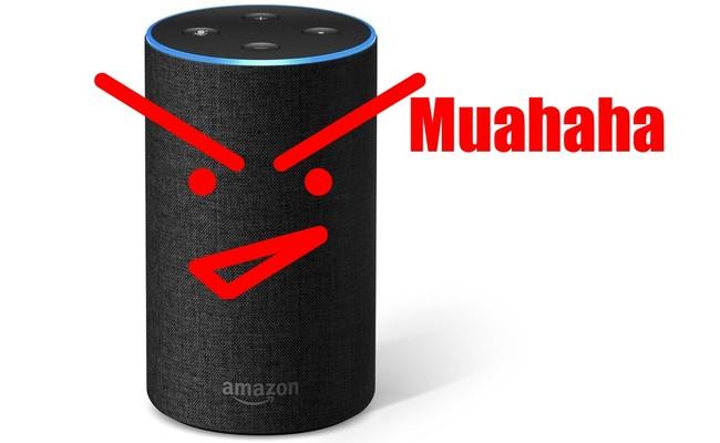 Amazon Echo Muahaha