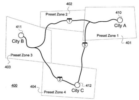 Patente GM para sintonías subasta