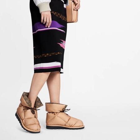 Louis Vuitton Botin Pillow Zapatos Ak5q1any31 Pm1 Worn View Copia