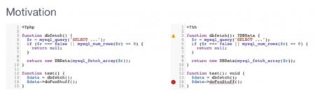 Facebook presenta Hack, su propio lenguaje de programación