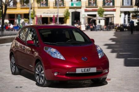 Nissan Leaf Pegatina