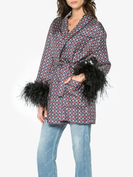 Prada Feather Tile Print Jacket 12485566 12223435 800