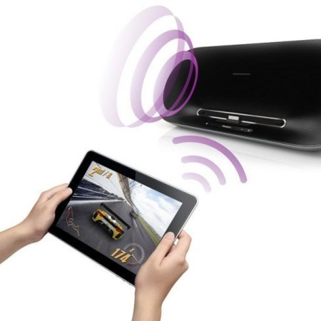 Philips Fidelio iPad iPhone iPod touch base altavoces bluetooth
