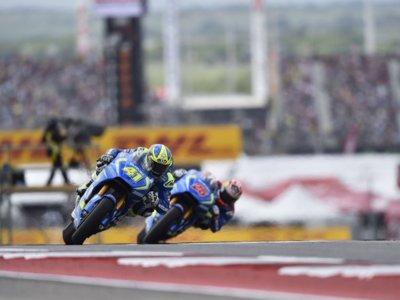 Suzuki completa un test en el Circuito de las Américas