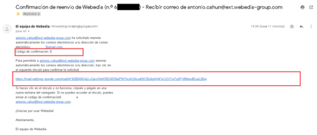 Reenviar Automaticamente Correos Cuentas Gmail