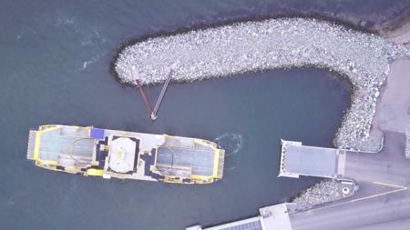 Rolls-Royce presenta en Finlandia su primer ferry autónomo