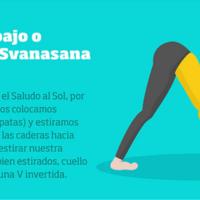 Infografía: 12 posturas de Yoga que puedes practicar en casa