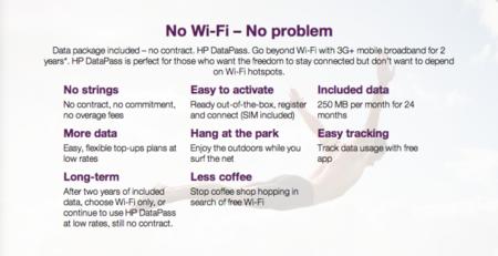DataPass de HP: el fabricante como operadora que dará 250 Mb al mes a sus clientes