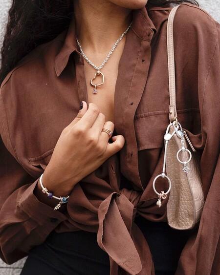 Pandora es mucho más que pulseras repletas de charms: collares y pendientes que son un auténtico flechazo
