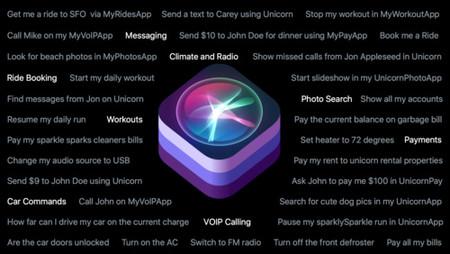 Los dominios de Siri