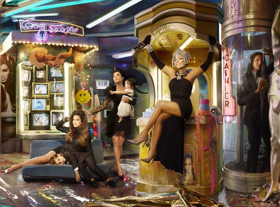 Foto de felicitación navideña de los Kardashian (1/4)