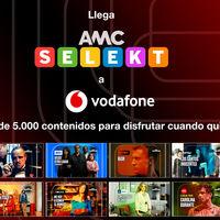 Vodafone TV incorpora AMC Selekt con más de 5.000 programas a la carta de 11 canales temáticos