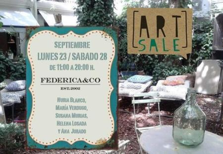 Art Sale en Federica & Co
