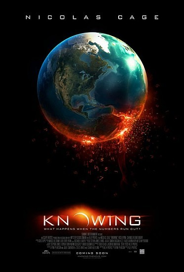 'Knowing', póster