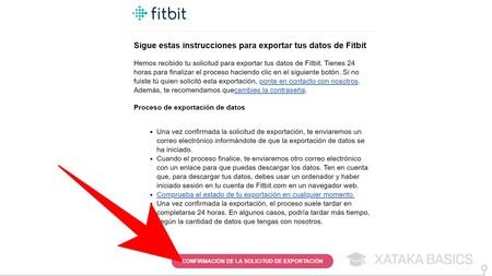 Correo Fitbit