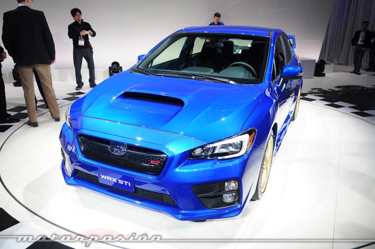 Foto de Subaru WRX STI 2014 (Salón de Detroit) (8/11)