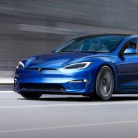 El nuevo Tesla Model S llega con una versión de 1.100 CV: potencia de Bugatti a precio de Porsche 911