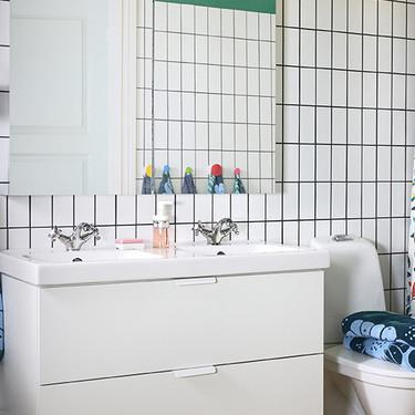 Quince accesorios a buen precio con los que actualizar el cuarto de baño