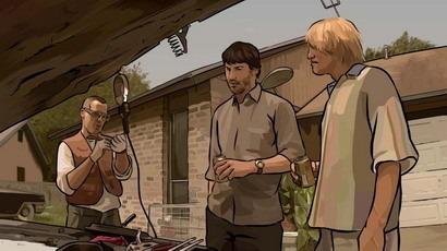 'A Scanner Darkly', rotoscopia salvadora