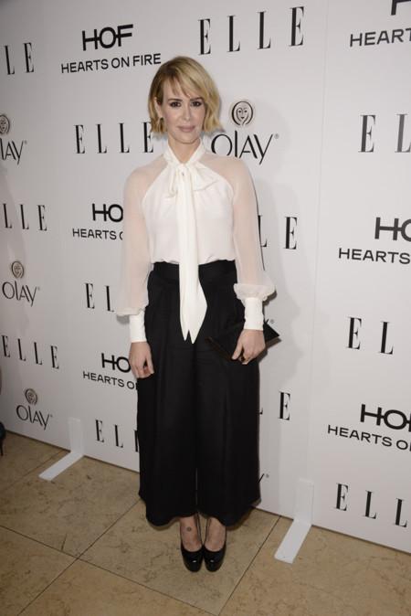 Sarah Paulson Elle Women Television 2015