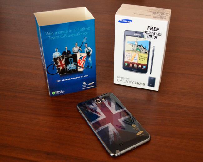 Samsung Galaxy Note Olympic Edition