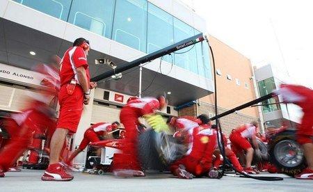 GP de Corea F1 2011: Ferrari probará el nuevo alerón delantero para 2012