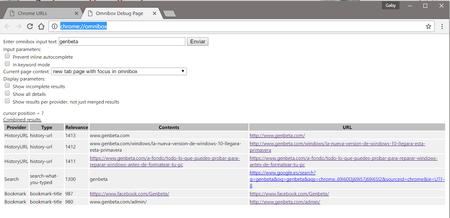 Hidden Google Chrome Pages